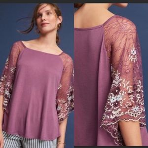 Anthropologie Callista Embroidered top coming soon